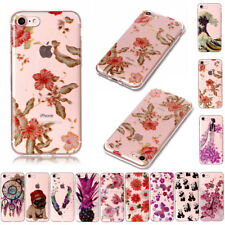 Thin Crystal Pattern Slim Silicone TPU Case For Apple iPhone 5 5s SE 6