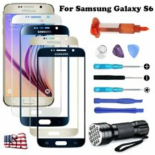 Front Glass Screen Lens Replacement UV Light Tools For Samsung Galaxy