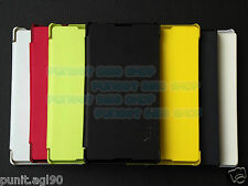 Flip Cover Case Hard Back For Sony Xperia C C2305