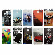 Stylish Look Rubber Back Cover For Intex Aqua Life 2 , Printed Back Case -----