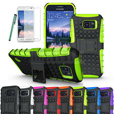 Protector Rugged Hybrid Hard Stand Case Cover For Samsung Galaxy S6 Ac