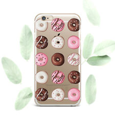 Cute Donats Food Desig Silicone Soft Rubber Case Cover Back For Apple