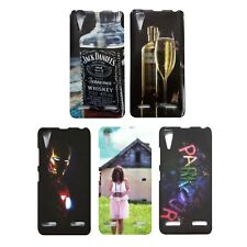 Stylish Look Printed Rubber Back Cover for Lenovo A6000 plus / A6000  ----