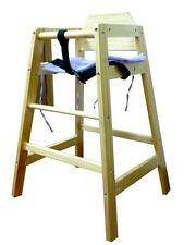 BZ Wooden Baby + GROW WITH YOUR CHILD WOODEN HIGH CHAIR WITH SAFETY HARNESS