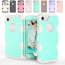 Full Body Hard Bumper Protective Rubber Phone Case For Apple iPhone 6