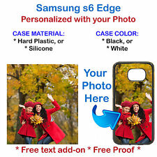 Customized Phone Cover Case with Your Picture Photo For Samsung S6 Edg