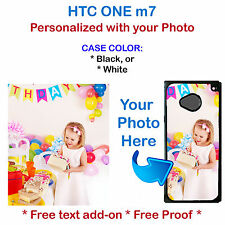 Customized Personal Photo Picture Phone Case Cover Fits HTC M7