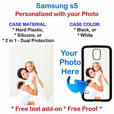 Personalized Custom Photo Picture Phone Case Cover Fits Samsung Galaxy