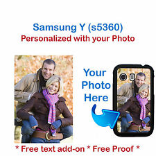 Personalized Photo Picture Phone Case Cover For Samsung Galaxy Y s5360