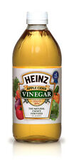 HEINZ APPLE CIDER VINEGAR 473 ML MADE IN U.S.A ( WITHOUT MOTHER )/ FREE GIFT BOX