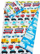 Transportation, Vehicles Baby Bedding Set Duvet Covers for Cot/ Cot bed/ Toddler