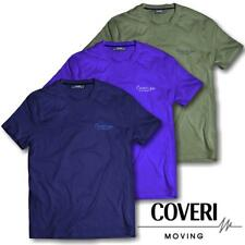 T-Shirt Uomo Taglie Forti Manica Corta COVERI MOVING 3XL 4XL 5XL 6XL