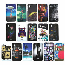 Stylish Rubber Back Cover for Micromax Canvas Doodle 3 A102 , Printed Case