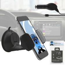 Suction Car Holder And Car Charger For Alcatel One Touch 606 Chat