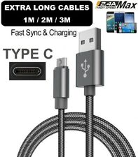 Extra Long 2MT USB Type C Fast Data Charger Cable Lead for Samsung Galaxy S8 S8+