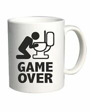Tazza BEER0060 Game over puke toilet hangover fun Happiness