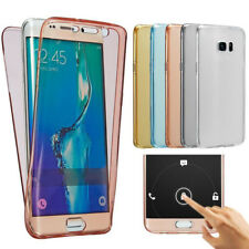 360 Shockproof Cover Case Thin Slim TPU Gel Skin Pouch for Samsung Galaxy S8 S8+