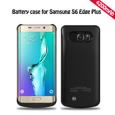 4200mAh External Battery Charger Case Power Pack For Samsung Galaxy S6 Edge Plus