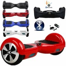 "HOVERBOARD 6.5"" LUCI LED E BLUETOOTH SPEAKER SCOOTER OVERBOARD VARI COLORI #H"