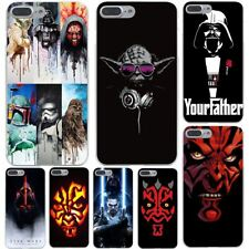 Darth Maul Skywalker Star Wars Hard Transparent Cover Case for iPhone 7 7 Plus 6