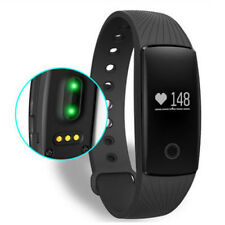 Mens Sport Smart Wrist Watch Heart Rate Monitor Fitness Tracker for IOS Android