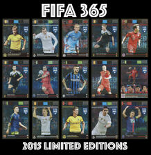 FIFA 365 ADRENALYN 2015/16 2015 2016 LIMITED EDITIONS