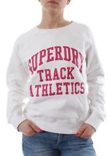 Superdry Jersey Women Athletics Crew Hamptons blanco