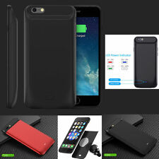 External Magnetic Power bank backup battery Charger Case For iPhone 6