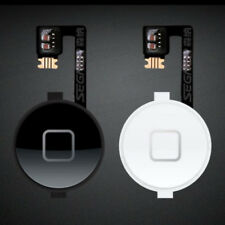 Whate/Black New Home Button Return Menu Button Flex Cable Parts For iPhone 4