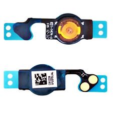 New Whate/Black Home Button Return Menu Button Flex Cable Parts For iPhone 5