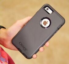 Black OtterBox Defender Rugged Case Cover for iPhone 6/6S iPhone 6 Plus/6S Plus