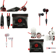 D'ORIGINE ECOUTEURS MONSTER BEATS IBEATS BY DR DRE IN-EAR CASQUE BLANC NOIR NEUF