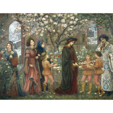 The Enchanted Garden - M Stillman Print