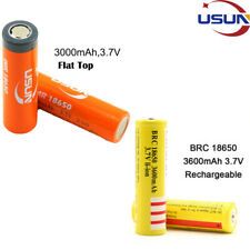 4/2/1x 18650 3600mAh 3.7V Rechargeable Li-ion Battery for Torch Flashlight IN UK