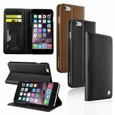 Cobble Pro Genuine Leather Wallet Card Slot Stand Case Skin for iPhone