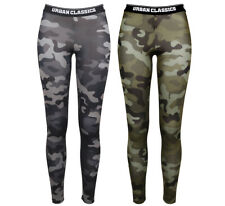 Urban Clasics Ladies Camo Logo Leggings Leggings Kamouflage