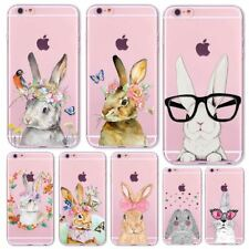 Lovely Fundas For Apple iPhone 7 6 6S 5 5S SE Soft Silicon Transparent Phone Cas