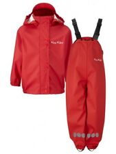 Kozi Kidz PU Essentials Kids Unlined Waterproof Set - Sport Red