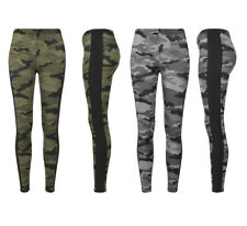 Urban Classics Ladies Camo Stripe Leggings Damen Leggins Yoga Pants