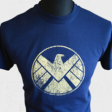 Agentes de SHIELD Camiseta Marvel Vengadores Captain America Iron Man superhéroe