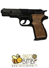 Pistola Giocattolo in Metallo a 8 Colpi 125 dB Panther Black