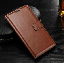 """VINTAGE PU LEATHER FLIP WALLET COVER BACK CASE FOR SONY XPERIA XA1 ULTRA  (6"""")"""