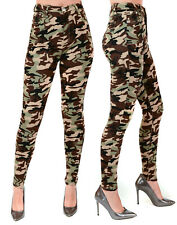 New Womens Slim Skinny Camouflage Jeans Ladies Army Denim Jegging Pants Jeans.