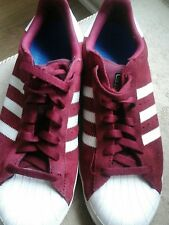 Mens/ Youths Adidas Skateboarding  size 7 Burgundy Trainers Must LOOK