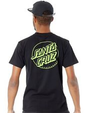 Camiseta Santa Cruz Outline Dot Negro