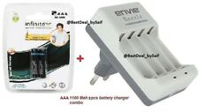 ORIGINAL ENVIE AAA and AA BATTERIES WITH OR WITHOUT AA/AAA ENVIE BEETLE CHARGER