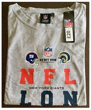 New York Giants LA Rams NFL International London Twickenham Women's T Shirt