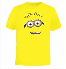 Minions inspired Design - Childrens T - shirt - minion party fancy dress funny