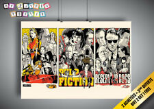 Locandina TARANTINO Pulp Fiction Serbatoio Kill Bill