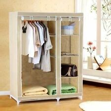 New Foldable Wardrobe Almirah Cupboard Portable Storage by Anything & Everything